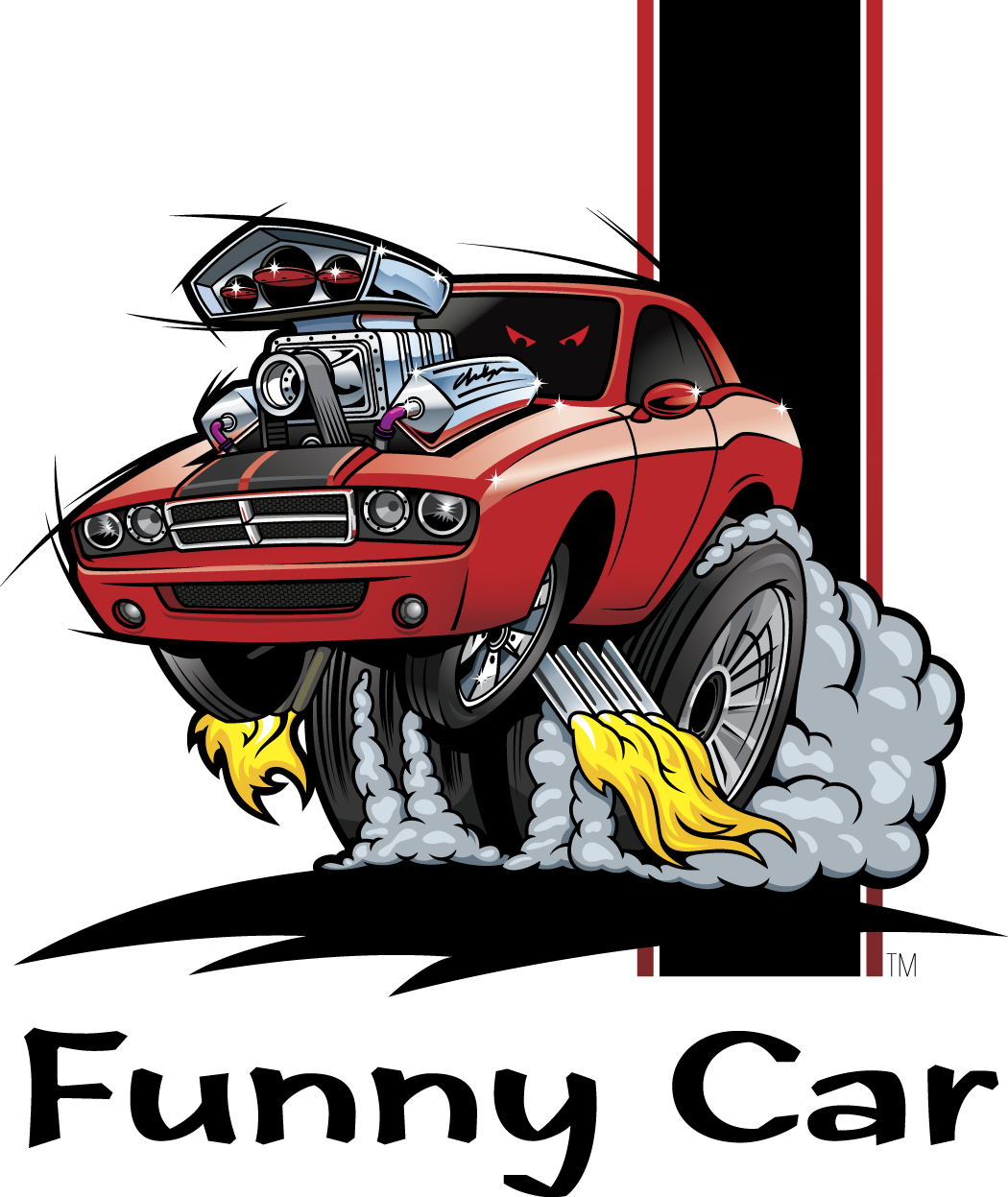 Funny Design Car Toon Free PPT Backgrounds for your ... |Funny Car Design