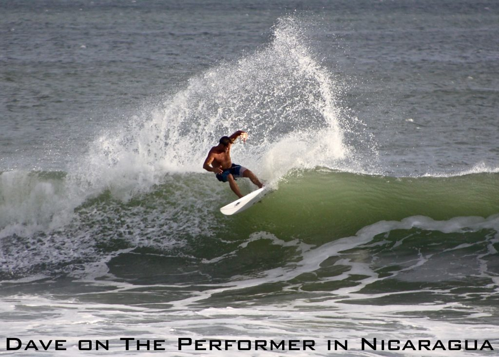 Dave on The Performer in Nicaragua