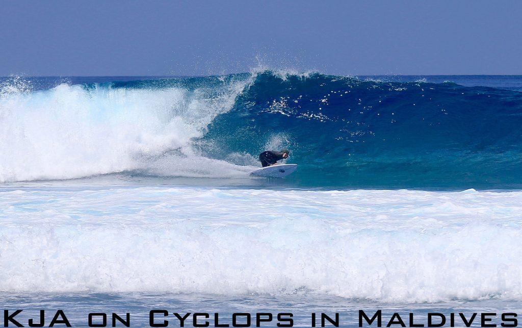 KJA on Cyclops in Maldives
