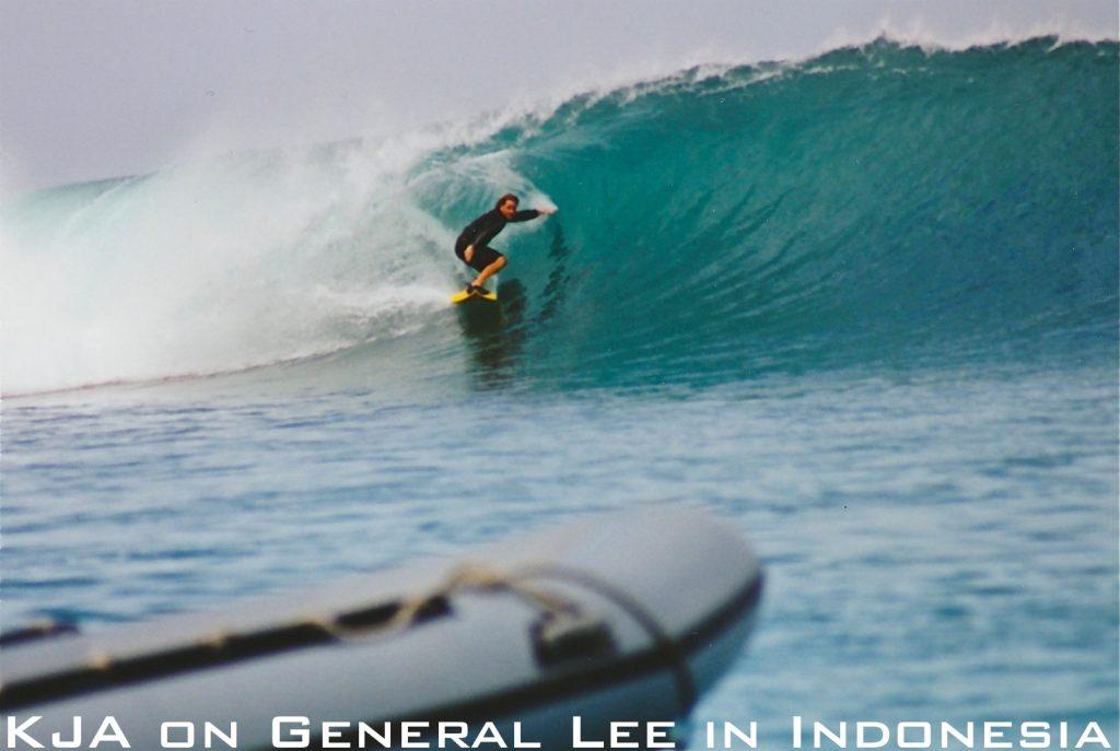 KJA on General Lee in Indonesia