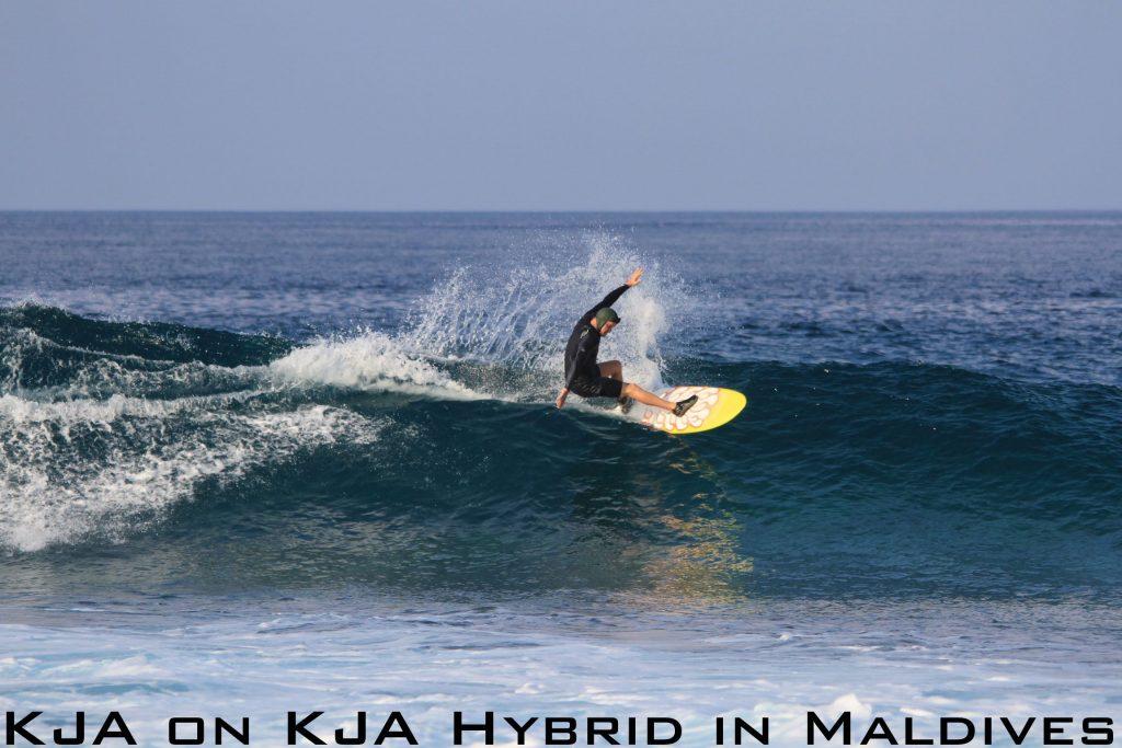 KJA on KJA Hybrid in Maldives