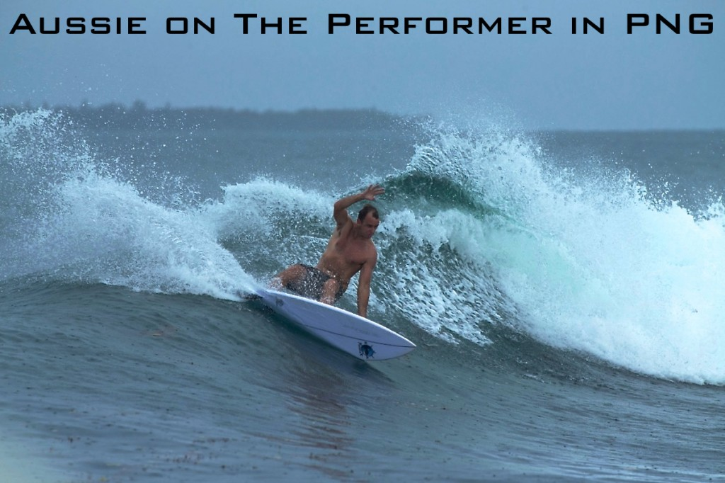 Aussie on The Performer in PNG labeled
