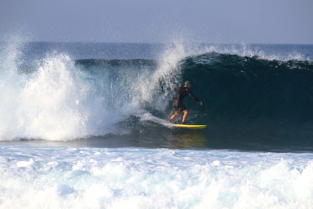 Timpone Hawaii free surf