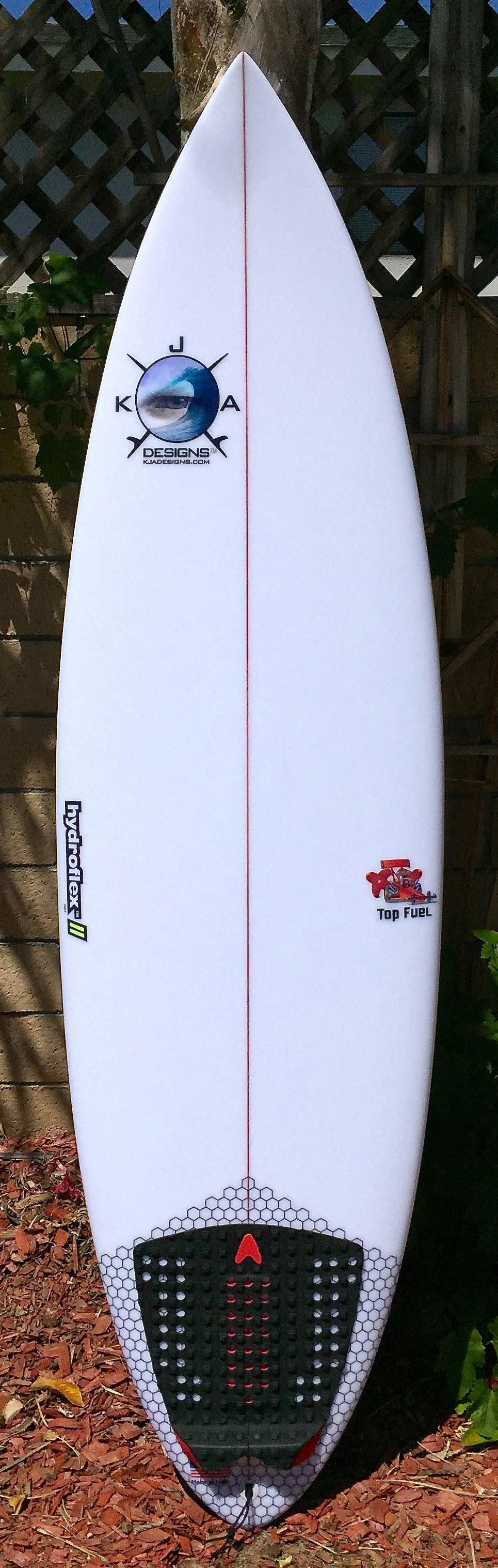 Top Fuel deck